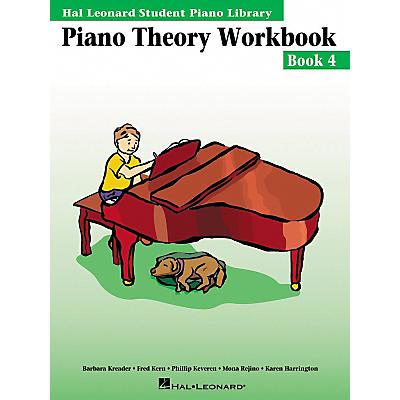 Hal Leonard Piano Theory Workbook 4 Hal Leonard Student Piano Library
