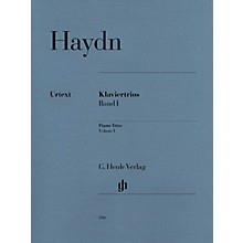 G. Henle Verlag Piano Trios - Volume I Henle Music Folios Series Softcover Composed by Franz Joseph Haydn