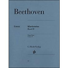 G. Henle Verlag Piano Trios - Volume II By Beethoven