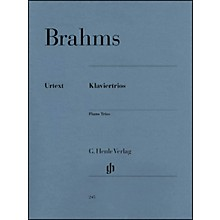 G. Henle Verlag Piano Trios By Brahms