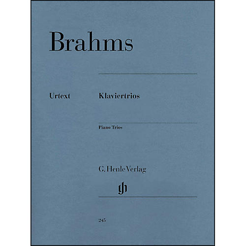 G. Henle Verlag Piano Trios By Brahms