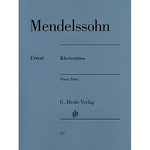 G. Henle Verlag Piano Trios Henle Music Folios Series Softcover Composed by Felix Mendelssohn