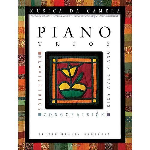 Editio Musica Budapest Piano Trios Musica da Camera EMB Series Softcover Composed by Various Edited by András Soós