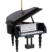 Kurt S. Adler Piano Wood Ornament