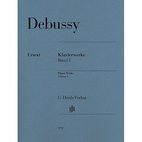 G. Henle Verlag Piano Works Henle Music Folios Softcover Composed by Claude Debussy Edited by Ernst-Günter Heinemann