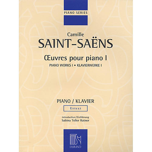 Editions Durand Piano Works Volume I Editions Durand Series