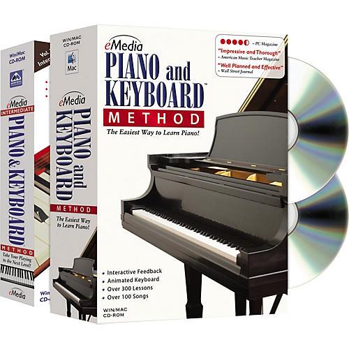 Emedia Piano and Keyboard Method Deluxe 2 CD-ROM Set