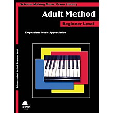 SCHAUM Piano for Adults Educational Piano Book by Wesley Schaum (Level Early Elem)