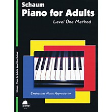 SCHAUM Piano for Adults (Level 1 Elem Level) Educational Piano Book by Wesley Schaum