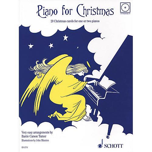 Schott Piano for Christmas (20 Christmas Carols for 1 or 2 Pianos) Schott Series