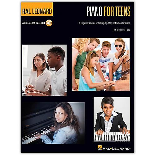 Hal Leonard Piano for Teens Method Book/Audio Online