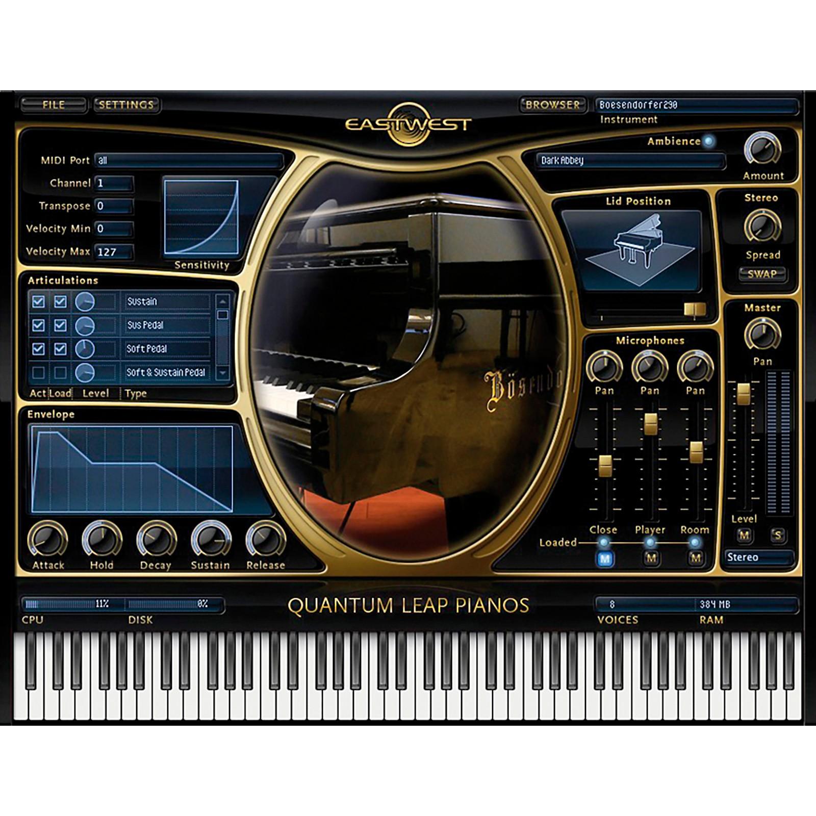 EastWest Pianos - Yamaha C7