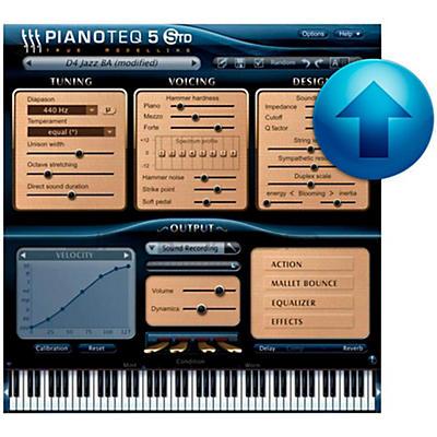 Modartt Pianoteq 5 Standard Upgrade from Stage/Play