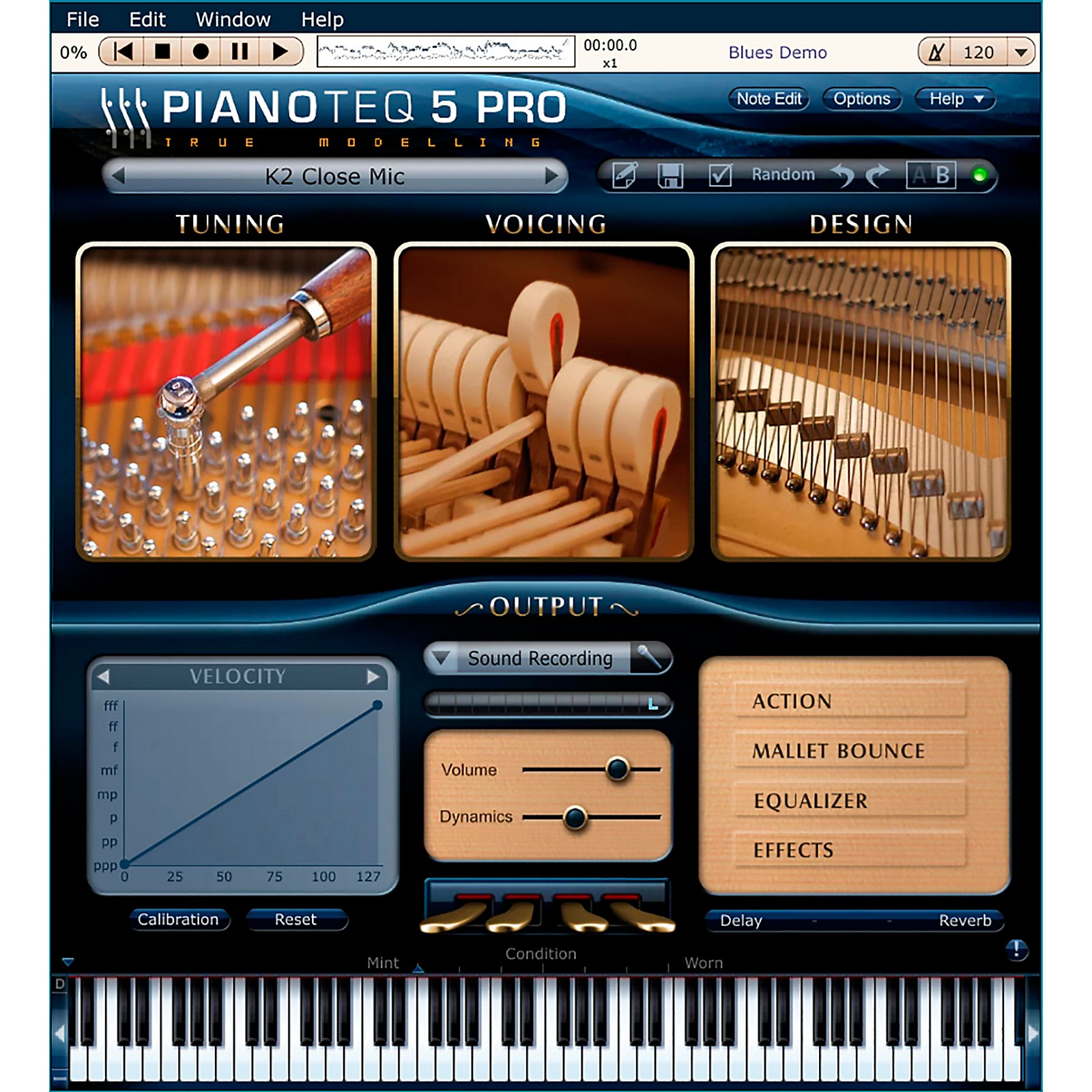 Modartt Pianoteq K2 Grand Piano