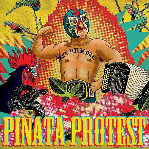 Alliance Piñata Protest - El Valiente