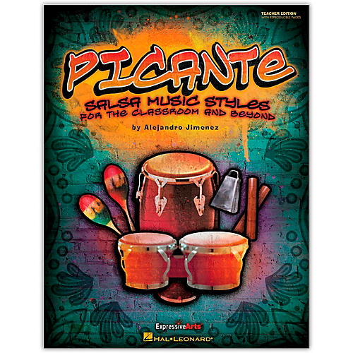 Hal Leonard Picante - Salsa Music Styles for the Classroom & Beyond Teacher's Edition (Orff)