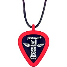 Pick-Holding Pendant/Necklace Rockin' Red