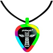 Pick-Holding Pendant/Necklace Tie Dye