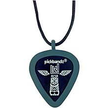Pick-Holding Pendant/Necklace Timberwolf Gray