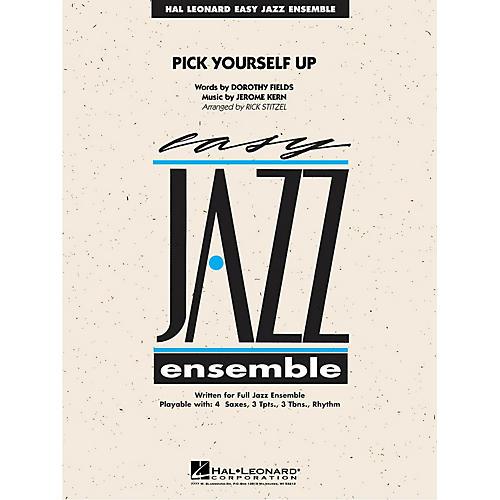 Hal Leonard Pick Yourself Up Jazz Band Level 2 Arranged by Rick Stitzel