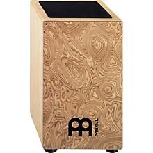 Open BoxMeinl Pickup Cajon with Makah-Burl Frontplate