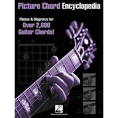 Hal Leonard Picture Chord Encyclopedia Book