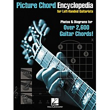 Hal Leonard Picture Chord Encyclopedia for Left-Handed Guitarists 9x12 Book