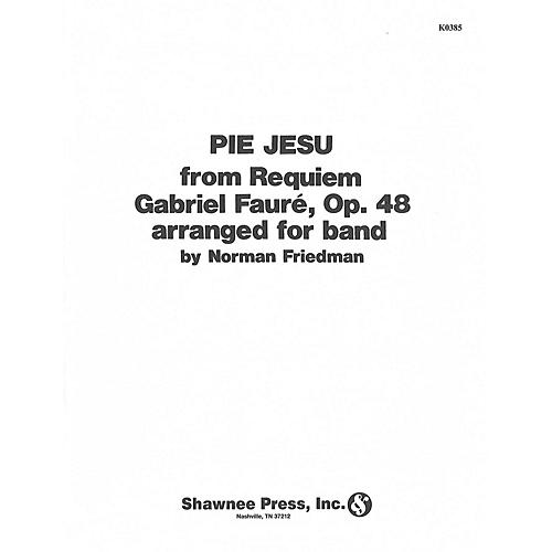 Hal Leonard Pie Jesu Concert Band Level 2 1/2 Arranged by Friedman