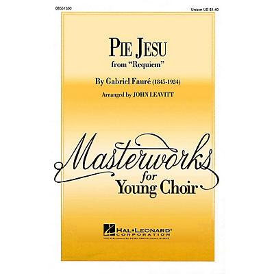 Hal Leonard Pie Jesu UNIS arranged by John Leavitt