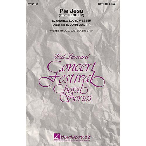 Hal Leonard Pie Jesu (from Requiem) SSA Arranged by John Leavitt
