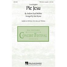 Hal Leonard Pie Jesu (from Requiem) TTBB Div A Cappella arranged by Mark Brymer