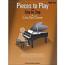Willis Music Pieces To Play Book 4