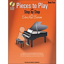 Willis Music Pieces To Play Book 5 Book/CD