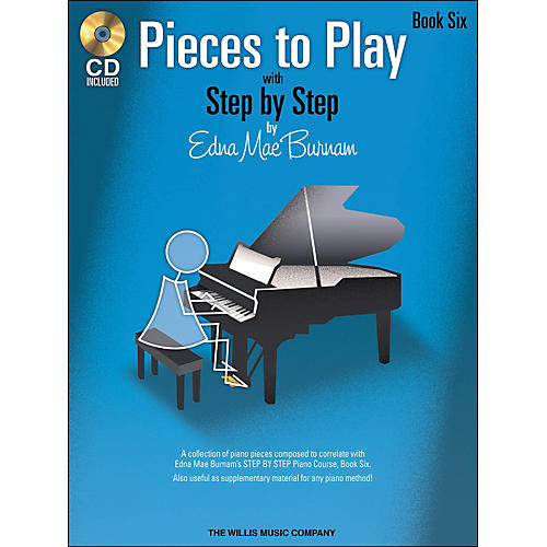 Willis Music Pieces To Play Book 6 Book/CD