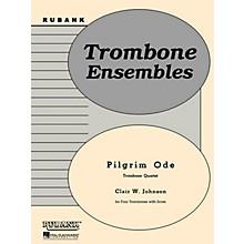 Rubank Publications Pilgrim Ode (Trombone Quartet - Grade 2) Rubank Solo/Ensemble Sheet Series