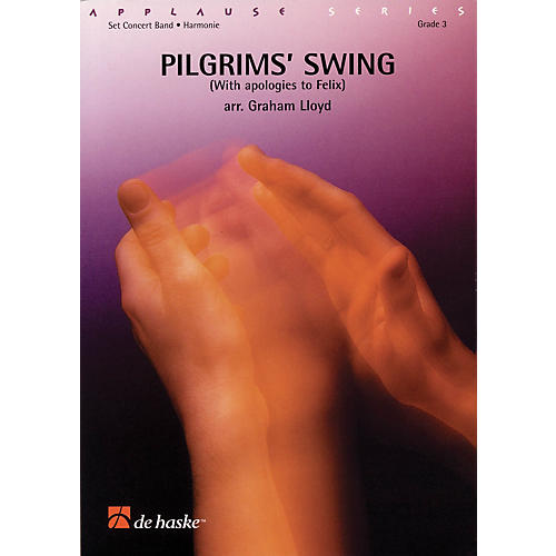 De Haske Music Pilgrims' Swing Full Score Concert Band Level 3 Arranged by Graham Lloyd