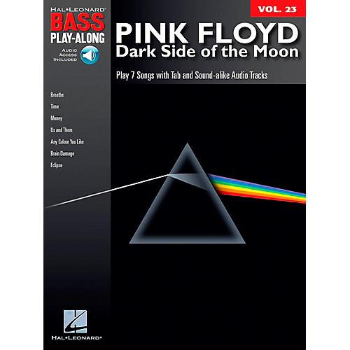 Hal Leonard Pink Floyd - Dark Side of the Moon - Bass Play-Along Series, Volume 23 (Book/CD)