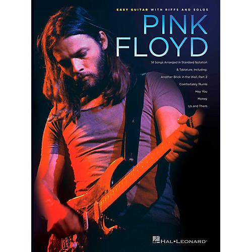 Hal Leonard Pink Floyd - Easy Guitar With Riffs And Solos (With Tab)
