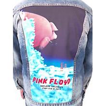 Dragonfly Clothing Pink Floyd - Oakland Coliseum '77  Pig In The Sky - Boys Denim Jacket