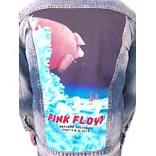 Dragonfly Clothing Pink Floyd - Oakland Coliseum '77  Pig In The Sky - Girls Denim Jacket