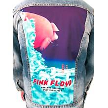 Dragonfly Clothing Pink Floyd - Oakland Coliseum '77  Pig In The Sky - Mens Denim Jacket