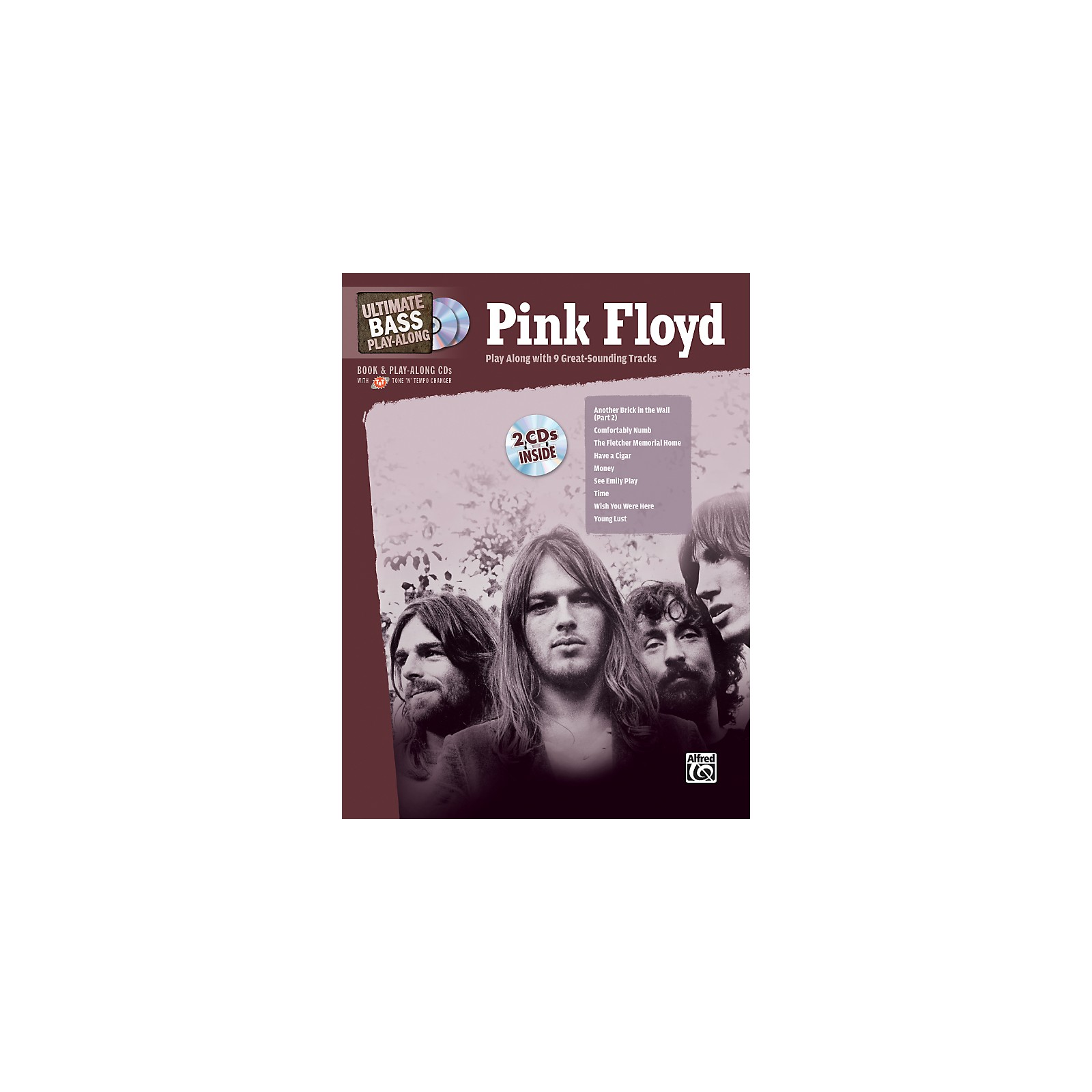 Alfred Pink Floyd - Ultimate Bass Play-Along (Book/CD)