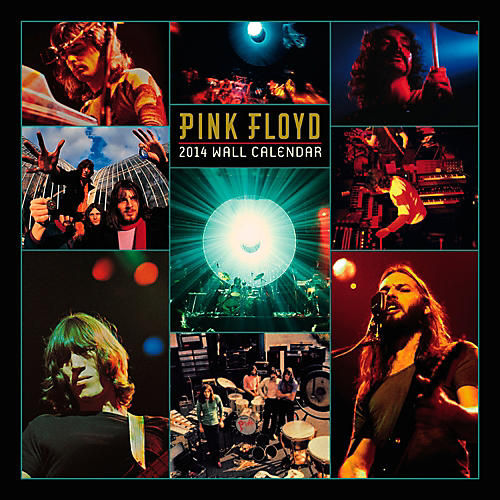 Browntrout Publishing Pink Floyd 2014 Calendar Square 12x12 NMR