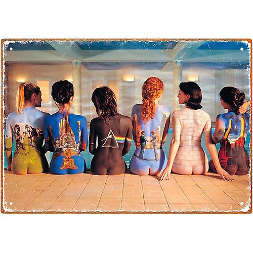 Hal Leonard Pink Floyd Back Art Tin Sign