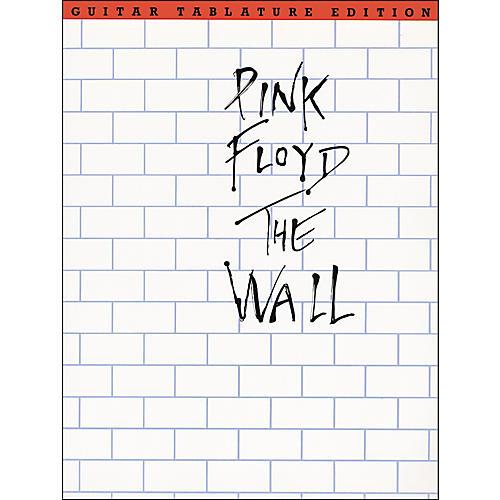 Music Sales Pink Floyd The Wall Guitar Tab Songbook