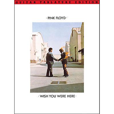 Music Sales Pink Floyd Wish You Were Here Guitar Tab Songbook