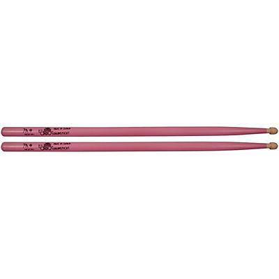 Los Cabos Drumsticks Pink White Hickory Drum Sticks