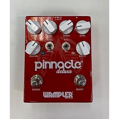 Wampler Pinnacle Deluxe Distortion Effect Pedal