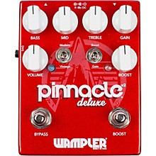 Open Box Wampler Pinnacle Deluxe v2 Distortion Pedal