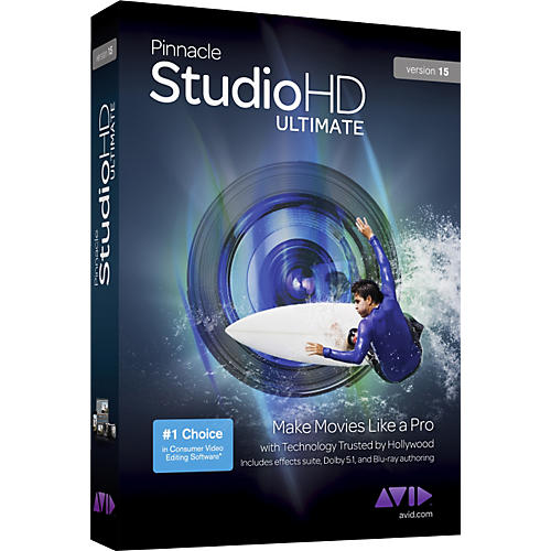 Pinnacle Pinnacle Studio HD Ultimate Version 15
